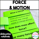 Force & motion Interactive Notebook