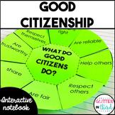 Good citizenship interactive notebook