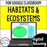 Google Classroom Distance Learning Habitats & ecosystems
