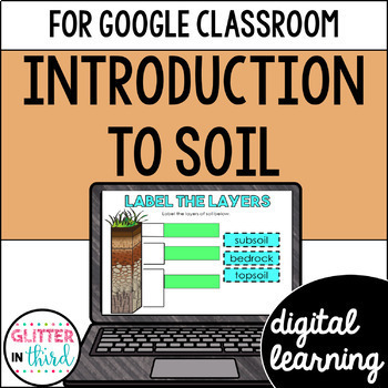 Intro to soil layers & weathering for Google Classroom DIGITAL