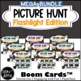 MEGA BUNDLE: Flashlight Picture Hunt Boom Cards w/ Audio (