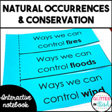 Natural occurrences & conservation Interactive Notebook SOL 3.8