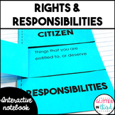 Rights & responsibilities interactive notebook