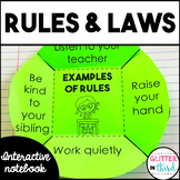 Rules & laws interactive notebook