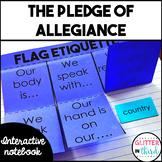 The Pledge of Allegiance interactive notebook