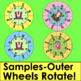Fourth of July Build A Word Wheels-Make Up To 63 Sets