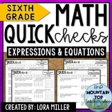 6th Grade Math Review | Expressions and Equations | ALL EE