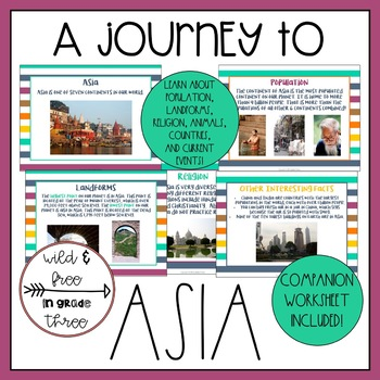 A Journey to Asia: A Presentation