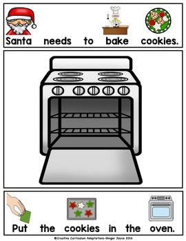 ADAPTED BOOK-Helping Santa (PreK-2/SPED/ELL)