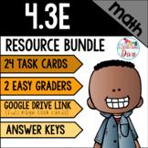 Adding Fractions (Same Denominator) - 4.3E Math TEKS Resource Bundle