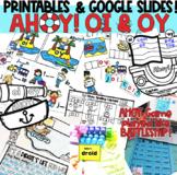 Ahoy! OI & OY Phonics Printable & Digital Activities - Goo