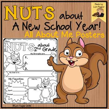 All About Me- Squirrel Theme