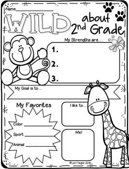 All About Me- Wild Animal Theme