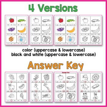 Alphabet Clip Cards (Alphabet Clip It Games)