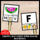 Alphabet Clip Cards Activity: Upper Case, Lower Case Matching | Initial Sounds