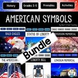 American Symbols Bundle: Eagles, Statue of Liberty, Liberty Bell, Mount Rushmore