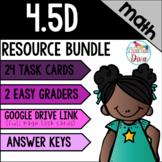 Area and Perimeter - 4.5D Math TEKS Resource Bundle