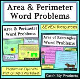 Area and Perimeter Word Problems PROMETHEAN BOARD