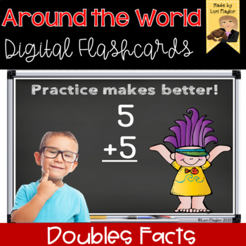 Around the World- Digital Edition Doubles Facts