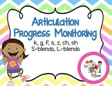 Articulation Progress Monitoring #1