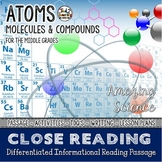 50% OFF Atoms, Molecules, and Compounds Differentiated Close Reading