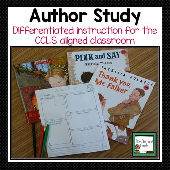 Author Study Resource Pack