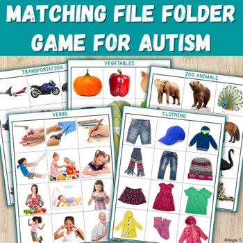File Folder Activity for Autism