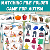 File Folder Activity for Special Education