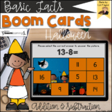 BOOM Cards-Halloween Addition and Subtraction Facts Digita