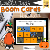 BOOM Cards-Halloween Doubles Facts Digital Task Cards