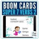 BOOM Cards | Present Tense Super 7 Verbs 2