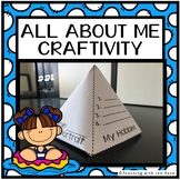 Back to School - All About Me Pyramid Craftivity