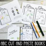 Kindergarten Beginning Letter Sounds Case Sorting NO PREP INTERACTIVE BOOKLET