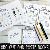 Cut and Paste Beginning Letter Sounds and Case Sorting Packet