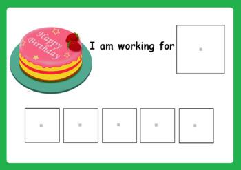 Birthday Token Reward Board