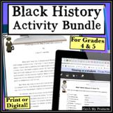 Black History Activities Bundle