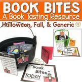 Book Bites Book Tasting Resource Three Editions Halloween,