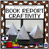 Book Report Pyramid Craftivity
