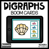 Boom Cards™ Digraphs: CH, SH, TH, WH DISTANCE LEARNING | D