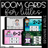 50% OFF Boom Cards for Littles GROWING Bundle