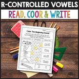 Bossy R Worksheets, Bossy R Activities, R Controlled Vowels Worksheets