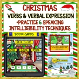 CHRISTMAS VERBS & VERBAL EXPRESSION USING SPEECH STRATEGIE