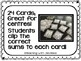 Canadian Money -  Coins Clip Cards for math centres