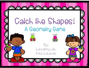 Catch the Shapes Geometry Game