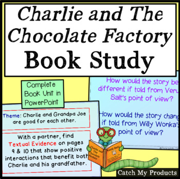 Charlie and the Chocolate Factory Novel Study in Power Point