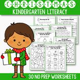Christmas Activities For Kindergarten Literacy No Prep