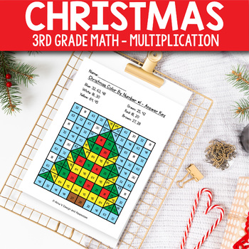 Christmas Activities For 3rd Grade Christmas Math Worksheets