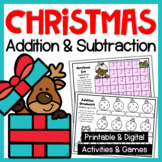Christmas Addition Activities and Games: Christmas Worksheets