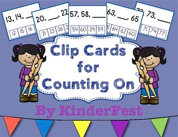 Clip Cards for Counting On