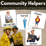 Community Helpers Cards for Special Education, ABA